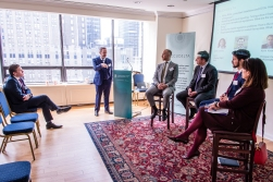 Accudelta Breakfast Briefing, March 8 2016 at the Irish Consulate, New York